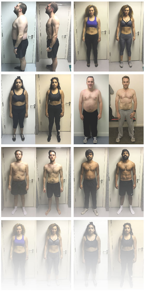 Evolve Fitness Before & After photos